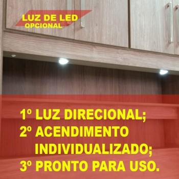 Dormitório De Casal Completo 1220 Carvalho Claro