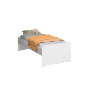 Dormitório De Solteiro Transversal 1326 Esquerdo Branco