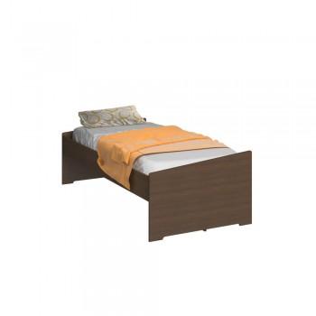 Dormitório De Solteiro Transversal 1326 Direito Castanho