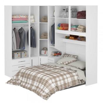 Dormitório De Casal Completo 1218 Branco