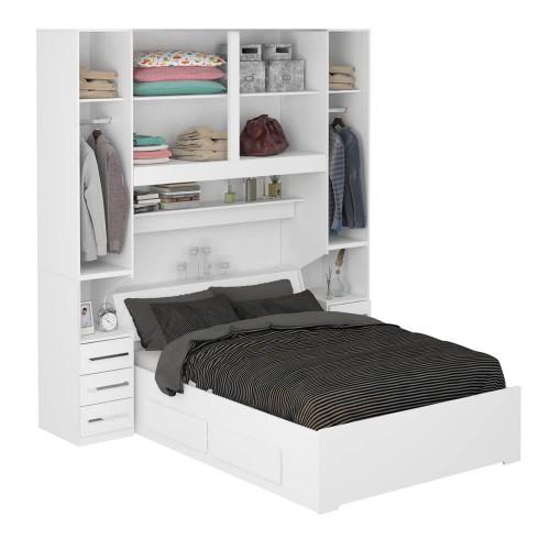 386fafa156 Dormitório De Casal Sem Cama 1220S Branco