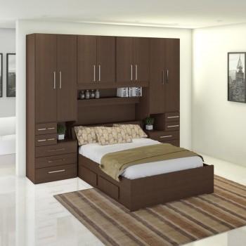 Dormitório De Casal Completo 1223 Noce Málaga