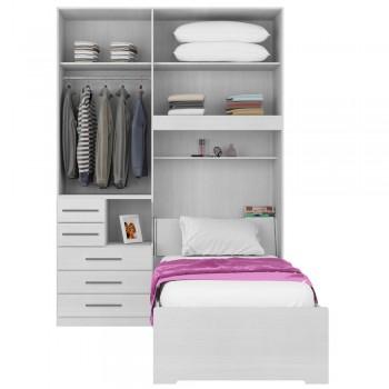 Dormitório De Solteiro 1225 Branco