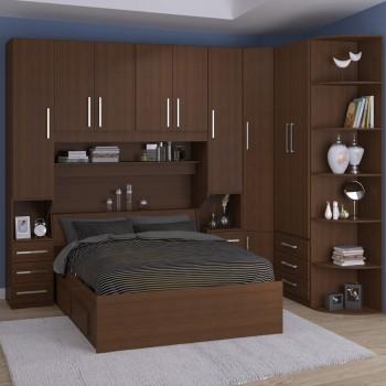 Dormitório De Casal Sem Cama 1219S Noce Málaga
