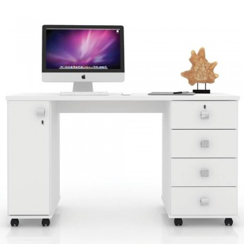 Mesa P/ Notebook Office Smart Branca