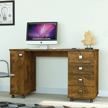 Mesa P/ Notebook Office Smart Canela