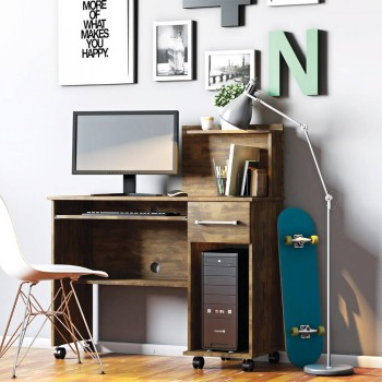 Mesa P/ Computador Office Studio Canela
