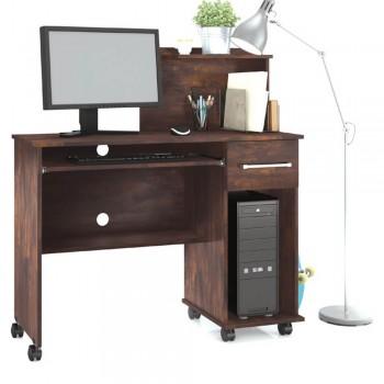 Mesa P/ Computador Office Studio Noce
